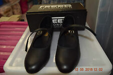 Black leather Freed cuban heel buckle character/tap dance shoes - various sizes
