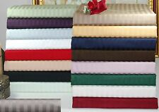 Luxury 300TC Egyptian Cotton Stripe Sheet Set