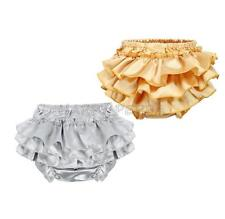 Toddler Baby Infant Girl Ruffle Bloomer Petti Short Underwear Diaper Nappy Cover