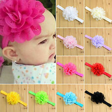 Girl Kids Baby Child Lace Flower Headband Hair Band Headwear Infant Accessories