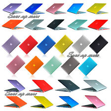 "Crystal Rubberized Hard Case Cover Shell For Macbook Air Pro Retina 11"" 13"" 15"""