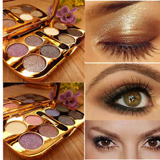 8 Colors Eyeshadow Brush Pro Eye Shadow Sparkling HOT Palette  Makeup Shimmer