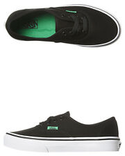 New Vans Boys Kids Authentic Shoe Rubber Canvas Children Boys Shoes Black