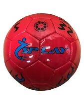 Splay Tyson Club Ball Blue skills football training size 5 coaching ball outdoor