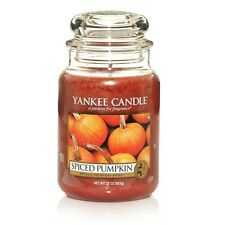 Yankee Candle Spiced Pumpkin Scented Candles