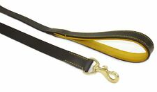 Huntington Leash (Bistre Brown) Luxury Leather Dog Lead Handcrafted