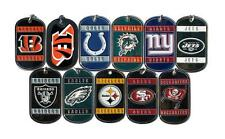 NFL Football DOG TAG style NECKLACE neck tag NEW bengals jets giants bucs colts