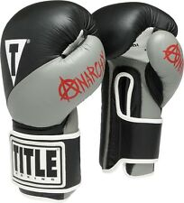 Title Boxing Infused Foam Anarchy Bag Gloves - Black / Grey