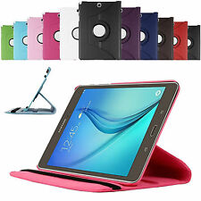 360 Rotating Smart Case Cover For Samsung Galaxy Tab A 8 inch T350 + Protector