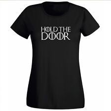HOLD THE DOOR tshirt t-shirt HODOR T SHIRT GAME OF THRONES TEE  LANISTER LADIES
