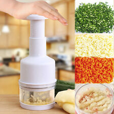 Kitchen Pressing Vegetable Onion Garlic Chopper Cutter Slicer Peeler Dicer DIG