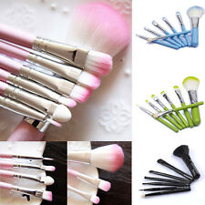 New 7Pcs Pro Makeup Brush Set Eyeshadow Eye Liner Face Lip Cosmetic Brushes