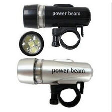 New Bike Bicycle 5 LED Power Beam Front Head Light Headlight Torch Lamp
