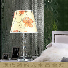 Metal Handmade Cloth Bedroom J05 Lamp Sleep Study Desk Table Purple Light La
