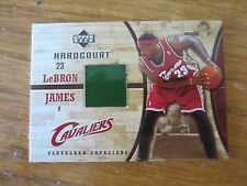 2006/07 UD HARDCOURT LEBRON JAMES GAME FLOOR CARD