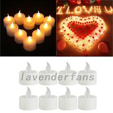5PCS LED Flickering Tea Light Candle Tealights Wedding Flameless Battery
