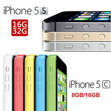 Apple iPhone 5s 5C 8GB 16GB 32GB 4G LTE GSM Unlocked Smartphone Sim Free