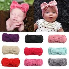 Baby Girls Headwear Hair Bow Hairband Crochet Headband Newborn Toddler Hair Band
