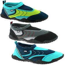 BOYS YELLO RACER AQUA SOCKS BEACH SHOES SIZE UK 13 - 5 KIDS SWIM SEA SURF FW927