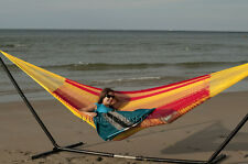 New Cotton Double Mexican Hammocks | Unique Breezy Point® Mayan Hammock Outdoors