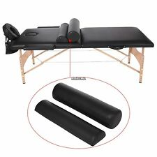 """Massage 84""""L Two-Fold Pad Portable Massage Table Facial Bed Spa Chair Black"""