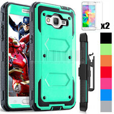 Hybrid Rugged Hard Case Shockproof Cover For Samsung Galaxy Grand Prime G530