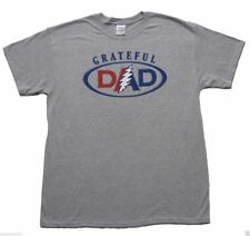 T-Shirts Sizes S-4XL New Authentic Mens Grateful Dead Grateful Dad Tee Shirt