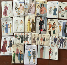 Vogue Vintage Designer Misses Women's Sewing Patterns Dresses Tops Pants Sets