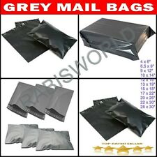 Strong Grey Postal Mailing Bags Sacks Diff Qty/Sizes *OFFER PRICE* Postal Bags