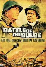 Battle of the Bulge DVD (2005) Henry Fonda New Robert Shaw NEW, FREE SHIPPING