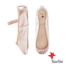 Pink satin Starlite full sole ballet shoes - all sizes