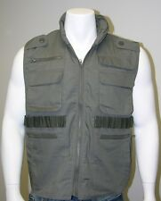 MENS Army Style Game/Outdoor/Fishing Vest -Olive Drab