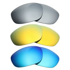 MRY POLARIZED Replacement Lenses for-Oakley Big Square Wire - Option Colors