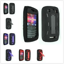 Armor Hybrid Defender Stand Hard Case Cover For BlackBerry Curve 9350 9360 9370