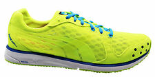 Puma Faas 300 V2 Mens Trainers Running Shoes Yellow Blue Lace Up 186492 17 U8