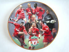 DANBURY MINT LIVERPOOL TREBLE WINNERS 2001 8