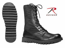 Rothco Black Ripple Sole Jungle Boots - 5050