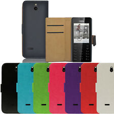 Flip Pu Leather Flip Case Wallet Cover For The Nokia 515