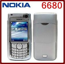 Nokia 6680 3G Mobile phone bluetooth java 1.3MP FM radio GSM bar cell phone