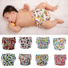 Newborn Baby Cloth Diaper Nappy Covers Reusable Nappies Leak-proof Pocket Nappy