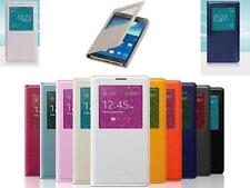 Flip S-View Leather Case Cover for Samsung Galaxy Note 3 III N9000 N9005