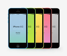 Original Unlocked Apple iPhone 5C iOS 8GB 4.0 Inch 4G LTE Siri 8MP Smartphone