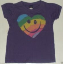 New Authentic Junk Food Smiley Face Heart Kids Tee Shirt Infant Toddler