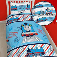 Thomas the Tank Engine adventure Single Reversible Duvet Quilt Cover*NEW DESIGN*