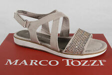 Marco Tozzi Sandals Sneakers Faux leather beige new