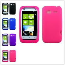 Slim TPU Gel Candy Rubber Soft Color Silicone Skin Case Cover For HTC Radar 4G