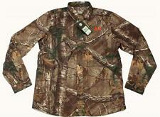 Under Armour REALTREE Camo Hunting Performance Field L/S Button Shirt NWT $79.99