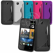WAVE S LINE GRIP GEL CASE SILICONE CASE COVER FOR HTC DESIRE 300