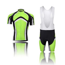 Arc Green Men's Cycling Kit Team Cycling Jersey & Bib Shorts Mtb Bike Short Set