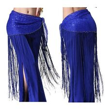 Belly Dance Costume Tribal Tassel hip scarf wrap belt Skirt Fringes Waist skirt